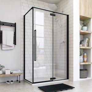 Aquatek JAGUAR Sprchový kút obdĺžnikový s jednými otváracími dverami