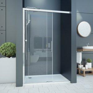 Aquatek WELLNESS Sprchové dveře s jedněmi zásuvnými dveřmi