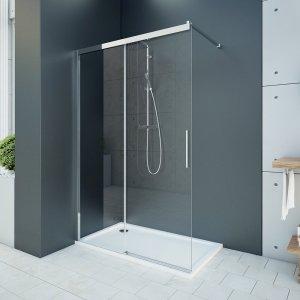 Aquatek WELLNESS Sprchové dvere s jednými zásuvnými dverami