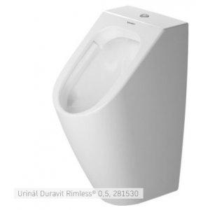 DURAVIT Me by Starck Urinál Duravit Rimless 0,5 300 x 350 mm, rôzne varianty