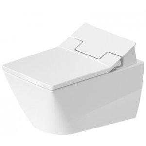 DURAVIT Viu Závesné WC Duravit Rimless pre SensoWash 370 x 570 mm, rôzne varianty