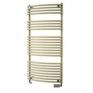 VÝPREDAJ Isan IKARIA RADIUS Kúpeľňový nástenný radiátor 1772/500(v/š) farba mosadz štandardný typ, klasické prip.4xG1/2 DIKR17720500SK83