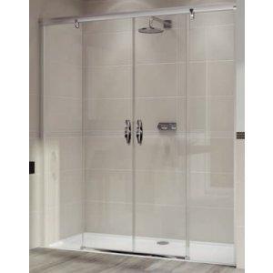 Huppe Aura elegance Posuvné dvere 2-dielne s pevnými segmentami rôzne typy