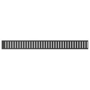 Alcaplast Rošt pre líniový podlahový žľab PUREBLACK