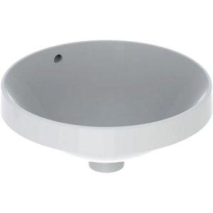 Geberit VariForm Zápustné umývadlo, okrúhle  rôzne prevedenia, 40 cm