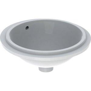 Geberit VariForm Vstavané umývadlo, okrúhle  rôzne prevedenia, 39 cm