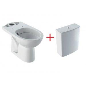 Geberit Selnova různá provedení, bílá 500.283.01.1 Stojací WC Rimfree se splachovací nádržkou