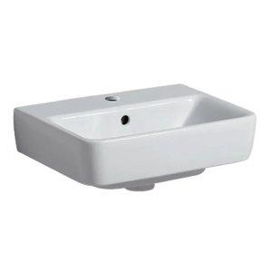 Geberit Selnova Compact Malé umývadlo biela, 45 cm 501.548.00.1