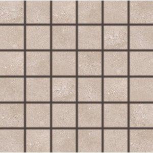 RAKO BETONICO mozaika set 30x30 cm tmavá béžová 5x5 DDM06794