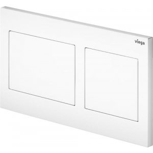 VIEGA Prevista WC ovládacia doska, plast model 8611.1