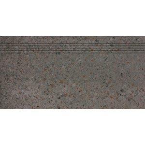 RAKO PIAZZETTA schodovka čierna 30x60 DCPSE789