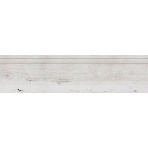 RAKO SALOON schodovka bielošedá 30x120 DCPVF745