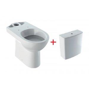 Geberit Selnova Stojacie WC so splachovacou nádržkou rôzne prevedenia, biela