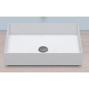 Alape METAPHOR Obdĺžníková umývadlová misa 50 x 37,5 x 11,5 cm AB.ME500