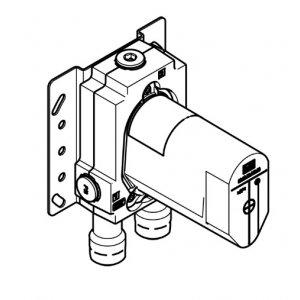 Dornbracht Podomietkové teleso pre podomietkovú batériu 35 020 970 90