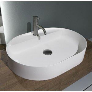 Antonio Lupi SIMPLO Oválne umývadlo rôzne prevedenia, 45 x 63 cm