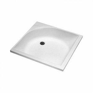 Kolo Štvorcová sprchovacia vanička, hlboká akrylát, 80 x 80 cm XBK0380