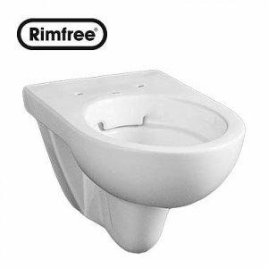 Kolo Nova Pro Závesné WC oválne Rimfree bez splachovacieho kruhu keramika M33120