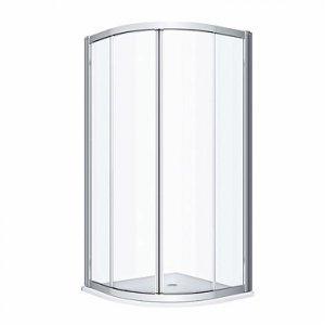 Kolo Geo Štvrťkruhový sprchovací kút rôzne rozmery
