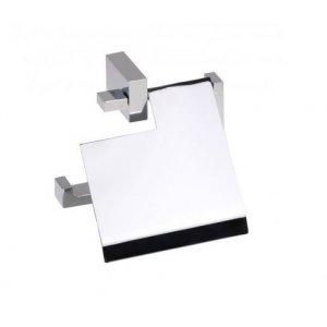 Bemeta GAMMA Držiak toaletného papiera s krytom 128x135x50 mm, chróm 145812012