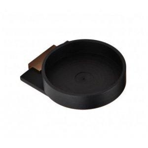 Bemeta GALLA Mydelnička 87x32x105 mm, ružové zlato lesk, čierna mat 108108020