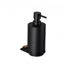 Bemeta GALLA Dávkovač tekutého mydla 75x170x130 mm, ružové zlato lesk, čierna mat 108109010