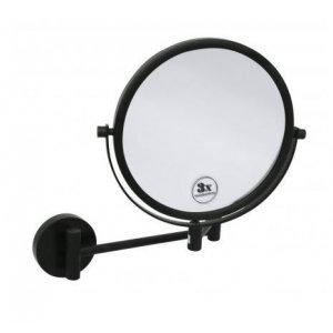 Bemeta DARK Kozmetické zrkadlo 230x310x450 mm, čierna 112201510
