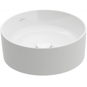 Villeroy & Boch Collaro Okrúhle umývadlo na dosku rôzne vyhotovenia, 400 mm
