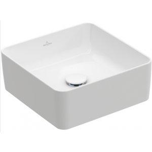 Villeroy & Boch Collaro Štvorcové umývadlo na dosku rôzne vyhotovenia, 380 x 380 mm
