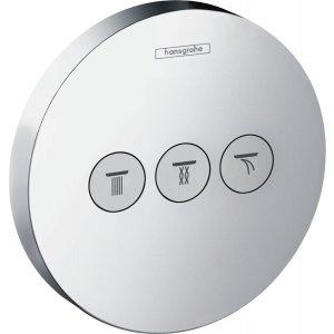 HANSGROHE ShowerSelect S Ventil pod omietku pre 3 spotrebiče chróm 15745000