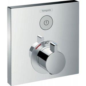 HANSGROHE ShowerSelect Termostatická batéria pod omietku pre 1 spotrebič chróm 15762000