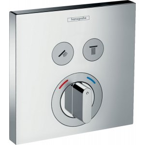 HANSGROHE ShowerSelect Zmiešavacia batéria pod omietku pre 2 spotrebiče chróm 15768000