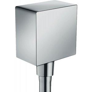 HANSGROHE Fixfit Square prípojka hadice so spätným ventilom a plastovým pripojením rôzne prevedenia