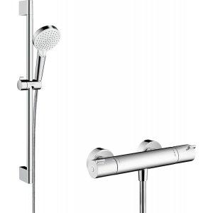 HANSGROHE Ecostat Combi s ručnou sprchou Crometta Vario chróm