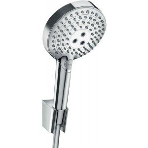 HANSGROHE Raindance Select S Sada se sprchovým držákem 120 3jet P se sprchovou hadicí chrom