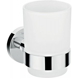 HANSGROHE Logis Universal 41718000 Nádobka pro ústní hygienu chrom
