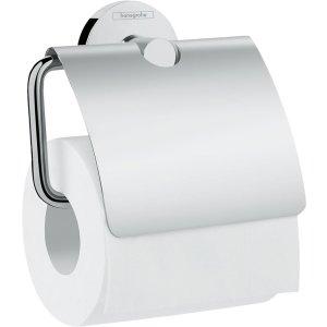 HANSGROHE Logis Universal Držiak na toaletný papier s krytom chróm 41723000