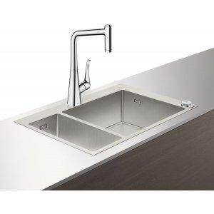 HANSGROHE C71 Select Drezová kombinácia 180/450  755x500 mm, rôzne prevedenia