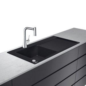 HANSGROHE C51 Select Drezová kombinácia 450 s odkvapkávacou plochou 1050x510 mm, rôzne prevedenia