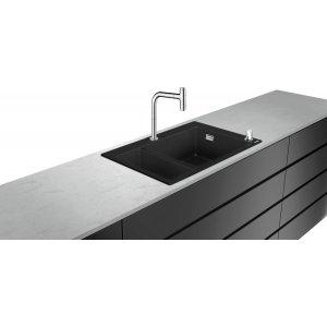 HANSGROHE C51 Drezová kombinácia 180/450 770x510 mm, chróm 43220000