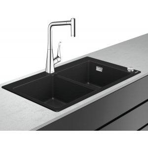 HANSGROHE C51 Select Drezová kombinácia 370/370  880x510 mm, chróm 43216000