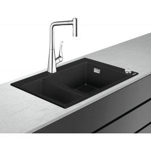 HANSGROHE C51 Select Drezová kombinácia 180/450  770x510 mm, chróm 43215000