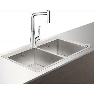 HANSGROHE C71 Select Drezová kombinácia 370/370  865x500 mm, rôzne prevedenia