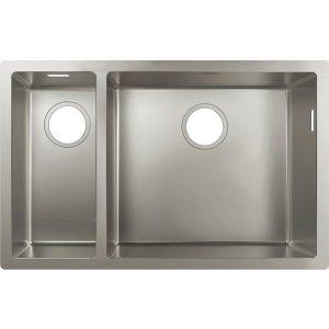 HANSGROHE S71 43429800 Dřez pod desku 180/450 nerezová ocel