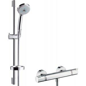 HANSGROHE Ecostat 1001 SL, Sada s ručnou sprchou chróm