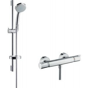 HANSGROHE Ecostat Comfort, kombinácia s ručnou sprchou chróm