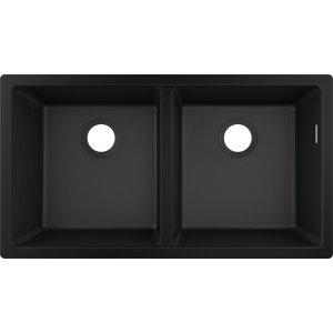 HANSGROHE SilicaTec S51 Dřez pod desku 370/370 různé barvy