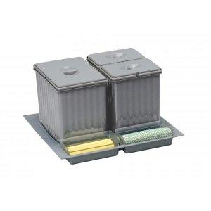 Alveus RP 901 Sorter na triedenie odpadu 1 x 16l, 2 x 7,5 l ROM.6901B60