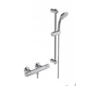 IDEAL Standard CeraTherm T Sprchová kombinácia - termostatická batéria nástenná, 3-funkčná ručná sprcha rôzne prevedenia, chróm