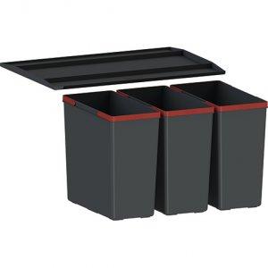 Franke Košový systém Easysort 600-3-0 3 × 14,5 l